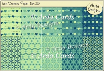 Sea Dreams Paper Set 25