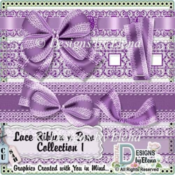 Lace Ribbon and Bow Collection1