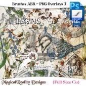Brushes ABR - PNG Overlays Set 3