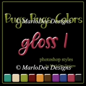 Bugs Bugs Colors Gloss Photoshop Styles