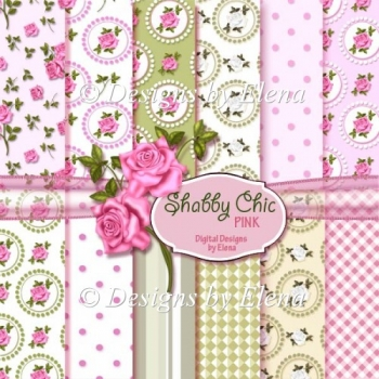 Shabby Chick Paper Pack 3 CU