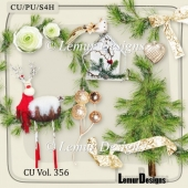 CU Vol. 356 Christmas Winter by Lemur Designs