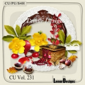 CU Vol. 231 Autumn Flowers Mix