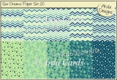 Sea Dreams Paper Set 20