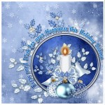 Sample use of Candle Setting Element Blue