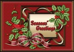 Christmas Greetings Card Topper1