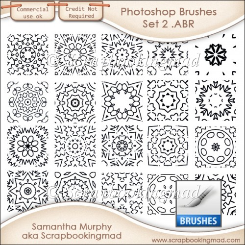 Photoshop .ABR Brushes Set 2 - CU OK
