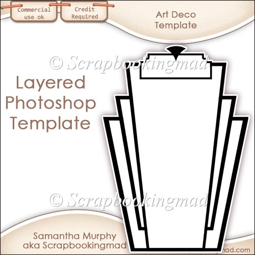 Awesome Free Art Deco Templates Motif - Resume Template ...