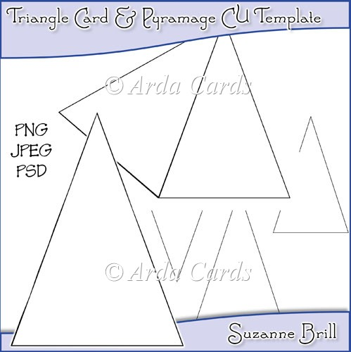 Triangle Card & Pyramage Commercial Use Template