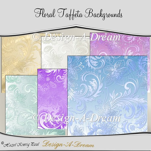 Floral Taffeta Backgrounds