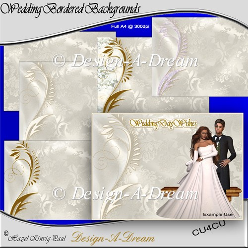 Wedding Bordered Backgrounds