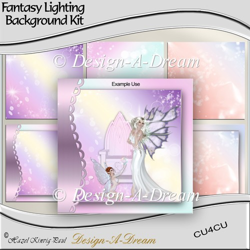 Fantasy Lighting Background Kit