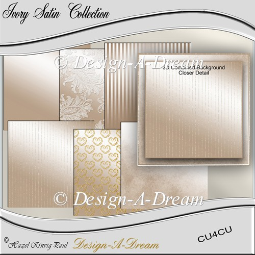 Ivory Satin Collection - Click Image to Close