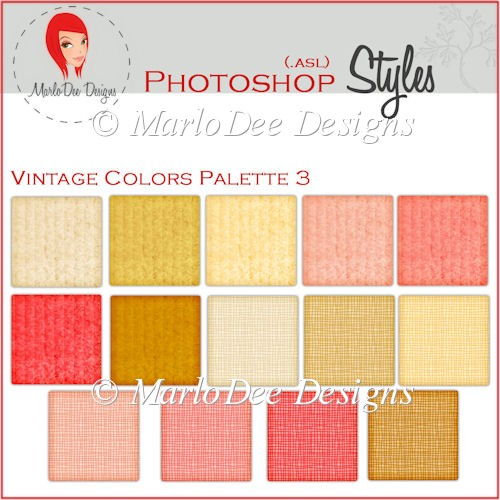 Vintage Colors 3 :: Photoshop Styles