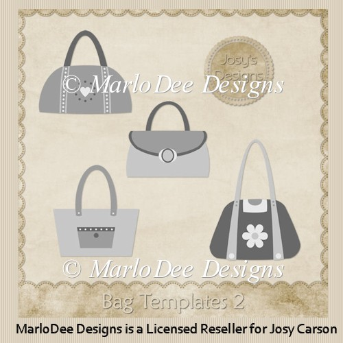 Handbag/Purse Templates 2