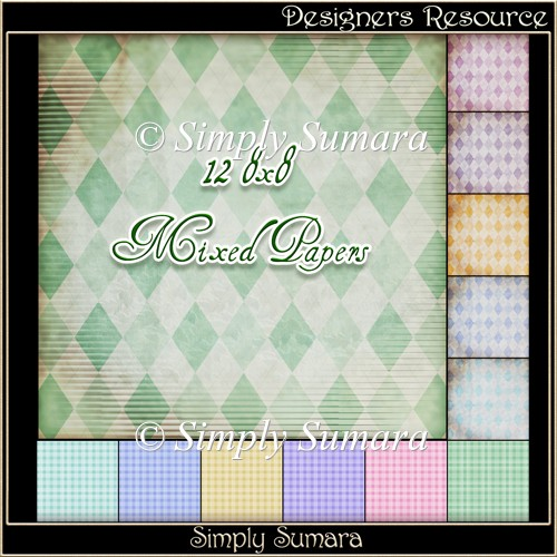 Designer Resource Mixed Papers