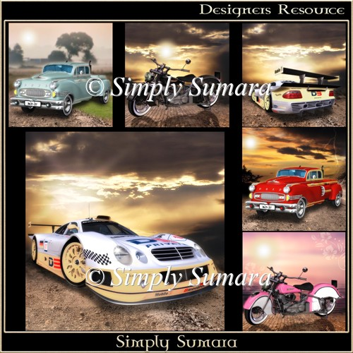 Designer Resource Transport Backgrounds