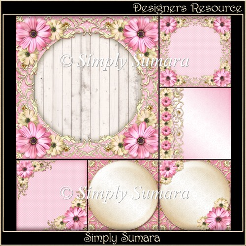 Designers Resource Pale Pink Papers