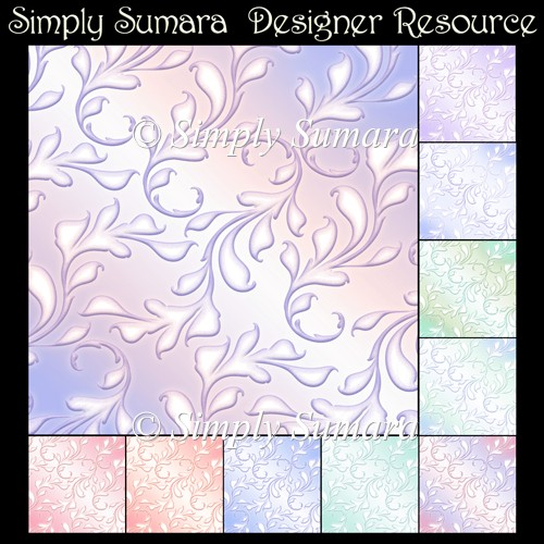 Designer Resource 10 Pastel Papers