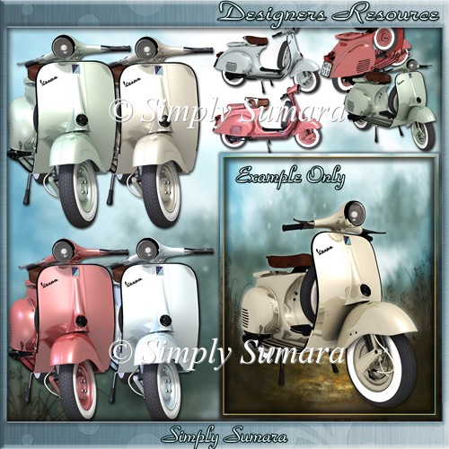 Designer Resource Vespa Scooters