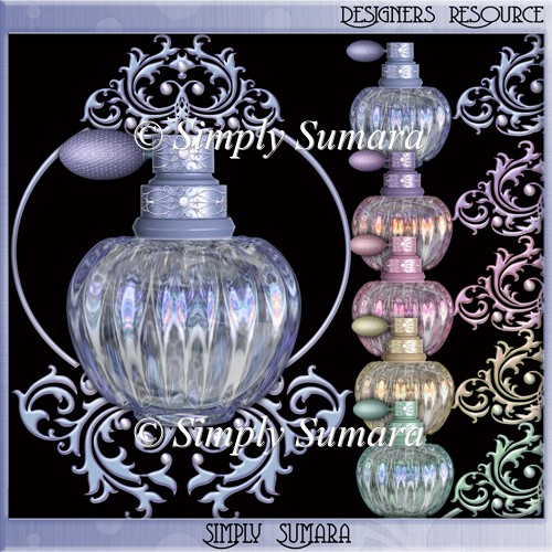 Designer Resource Perfume Bottles