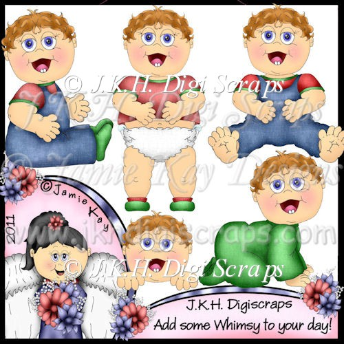 Happy Baby Boy Clipart Collection - Click Image to Close
