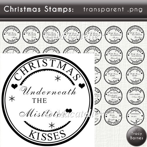 Christmas Sentiment Stamps - Click Image to Close