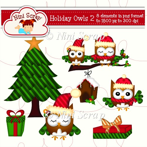 Holiday Owls 2