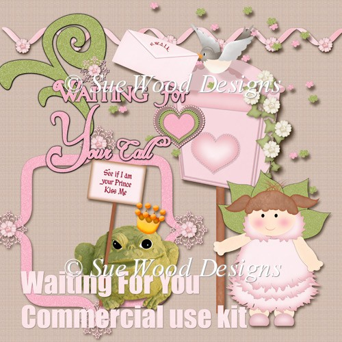 Waiting For You Commercial Use designers resource