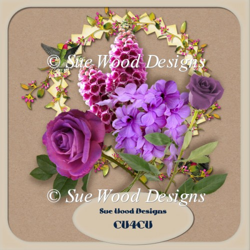 Floral vol3 cu4cu resource for designers.