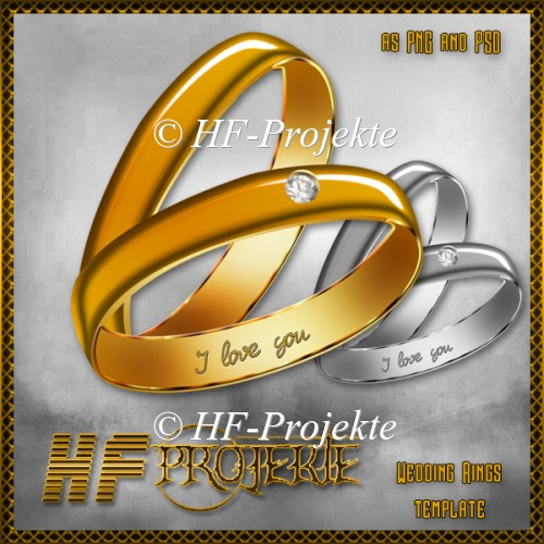 CU Wedding Rings Template