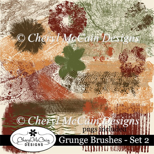 Grunge Brushes - Set 2
