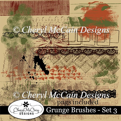 Grunge Brushes - Set 3