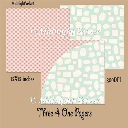 Three4One paper pack10