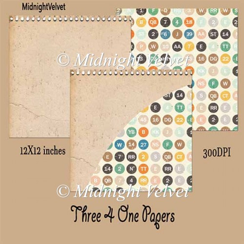 Three4One paper pack 3