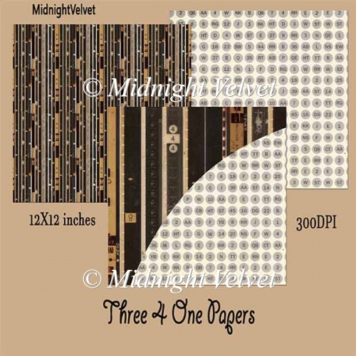 Three4One paper pack4