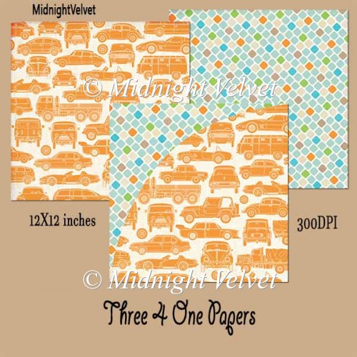 Three4One paper pack