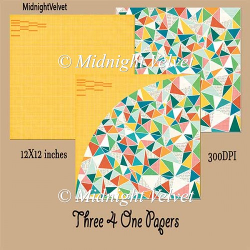 Three4One paper pack9