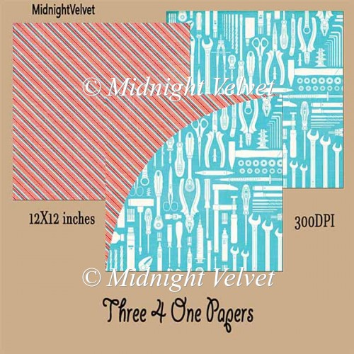 Three4One paper pack 2