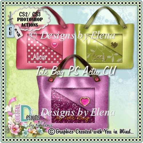 Tote Bag PS Action CU