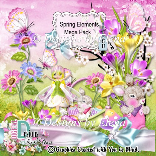Spring Elements Mega Pack