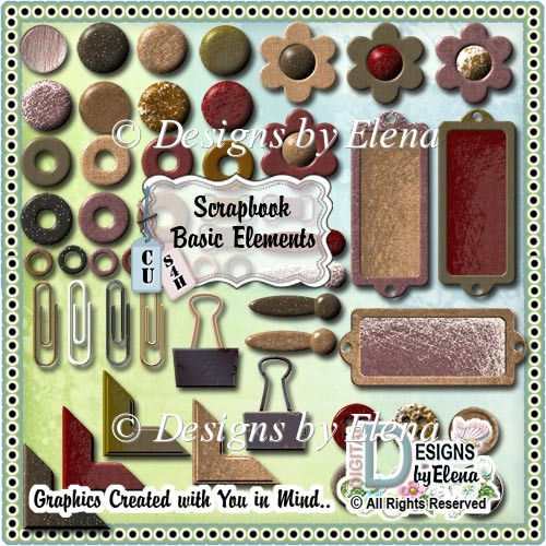 Scrapbook Basic Elements