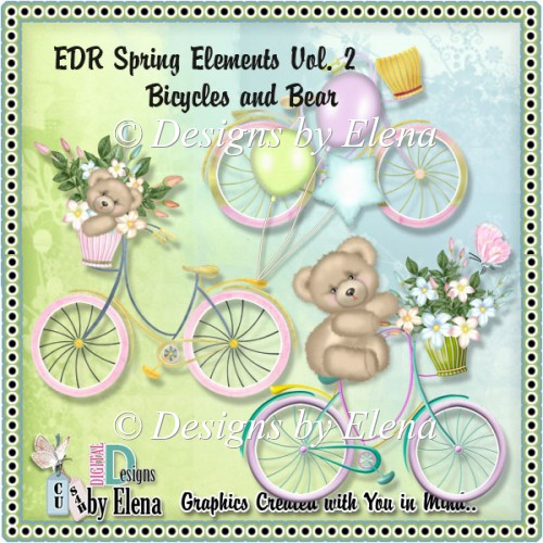 Spring Elements Vol 2- Bicycles - Click Image to Close