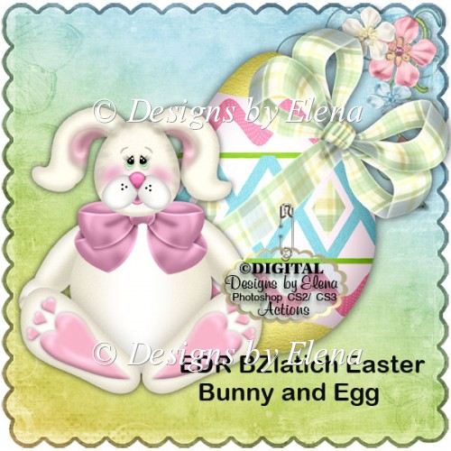 BZlatich Easter Bunny and Egg