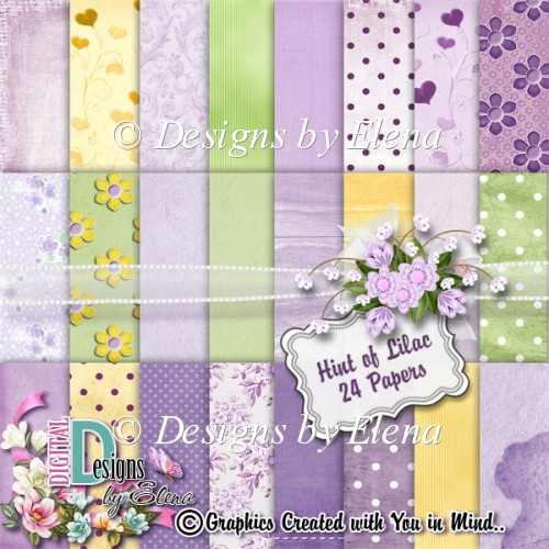 Hint of Lilac Paper Pack