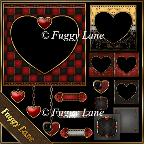 Valentine Designers Resource Pack