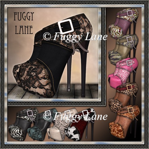 10 Peep Toe Platforms Set 2