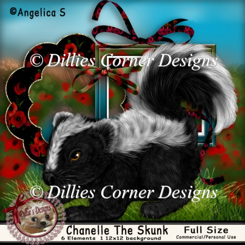 Chanelle The Skunk - Click Image to Close