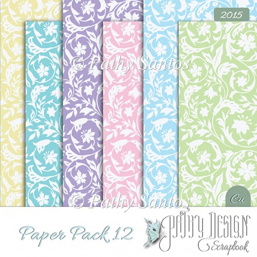 Paper Pack 12 Pathy Design