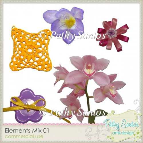 Elements Mix 01 Pathy Santos